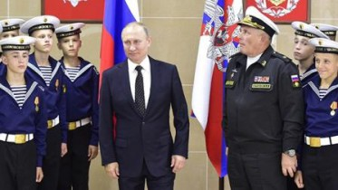 Президент посетил филиал Нахимовского училища во Владивостоке