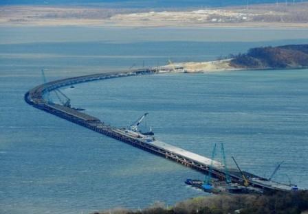 Керченский мост. Все по графику