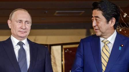 Путин и Абэ согласовали заявление по Курилам