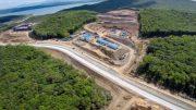 Строительство дороги к ТОР «Надеждинская»