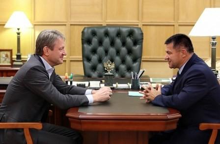 Министр пообещал врио Губернатора поддержку