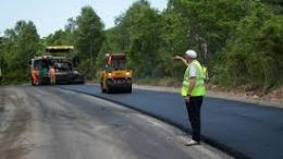 строительство скоростной дороги